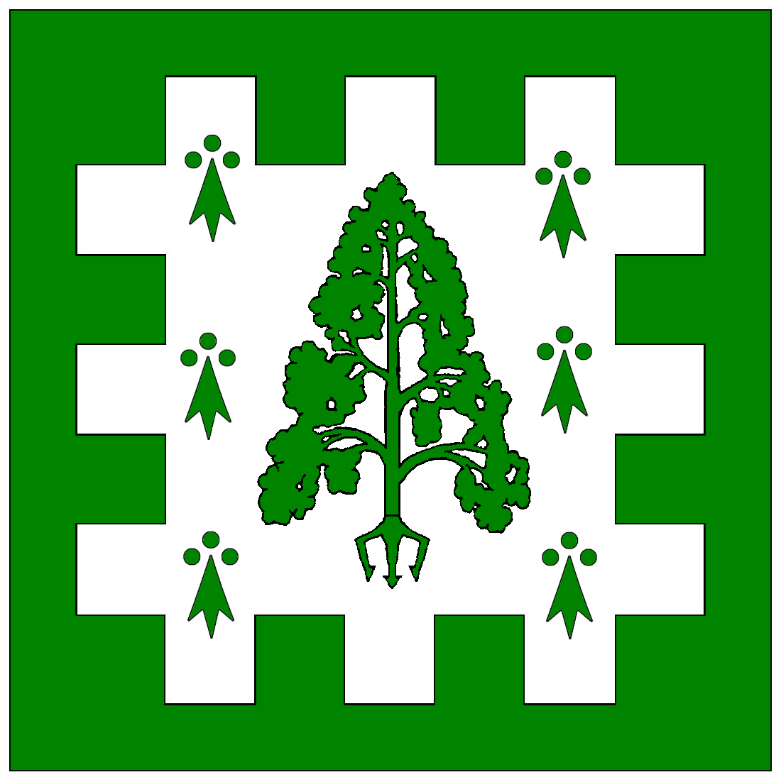 BFS Award Trident Tree